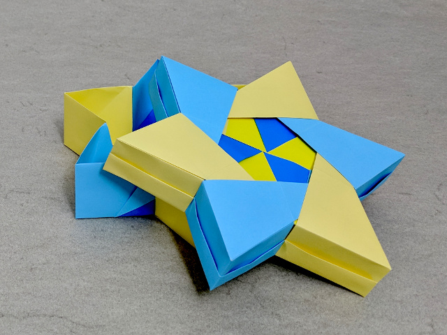 How to Make an Easy Origami Star Box - YouTube | 480x640
