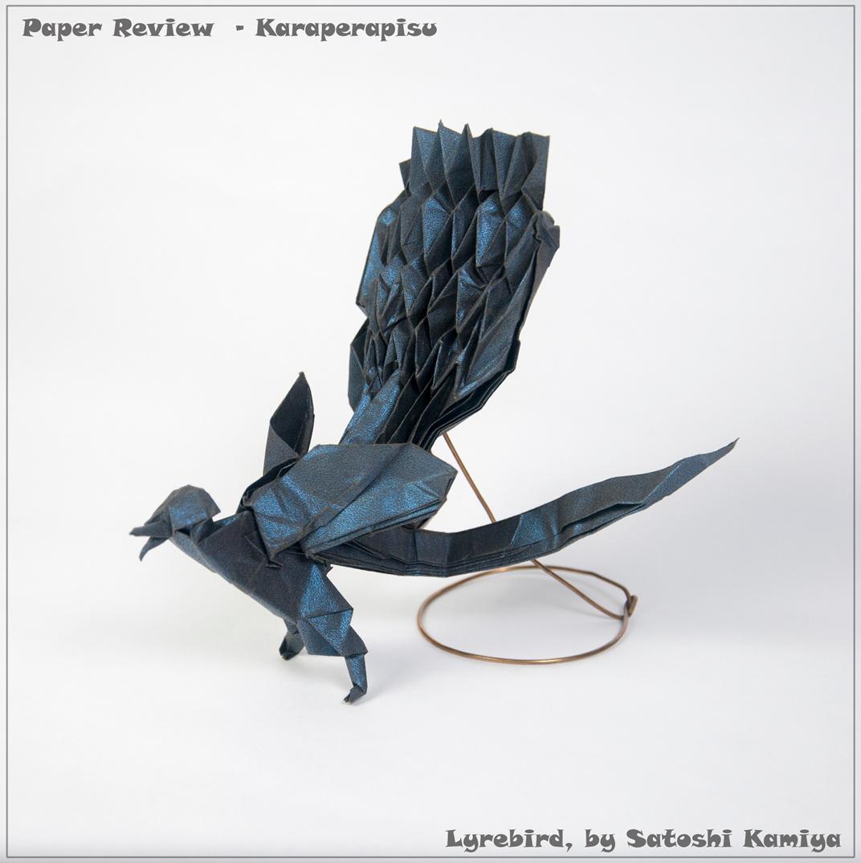 Karaperapisu paper review happy folding lyrebird by satoshi kamiya 305305cm jeuxipadfo Images