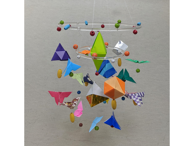 Origami Mobile Happy Folding