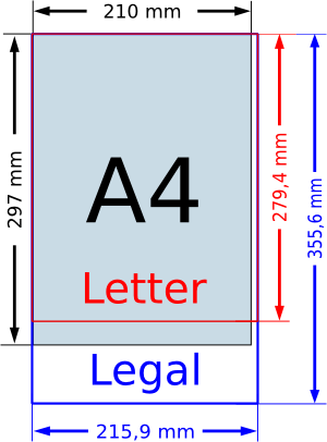 dimensions of legal paper Ledger paper dimensionsthis size is used in the usa and canada.