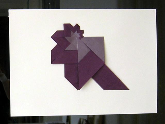 Freising 2010: Assia Brill's Display: Pajarita Mosaik 2