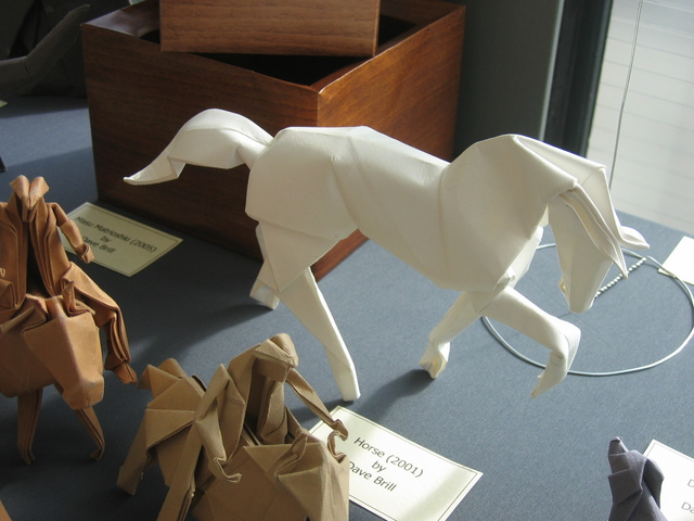 Horse David Brill Happy Folding