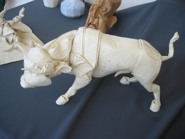 Bull by Stephan Weber : origami | 480x640
