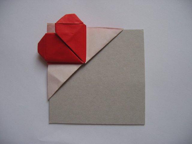 Heart Bookmark Kim Best Happy Folding