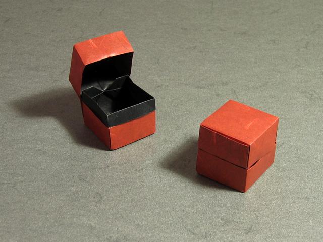 Origami Boxes by Robin Glynn and Carmen Sprung | Go Origami | 480x640