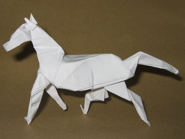 Horse (David Brill): First attempt