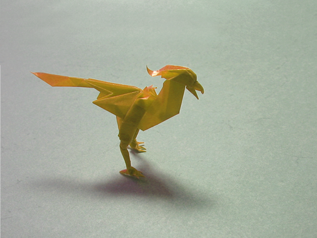 How Yo Make A Origami Bird