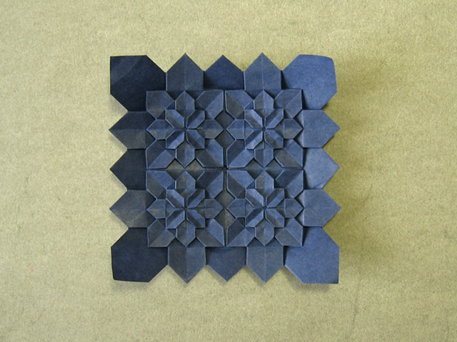High Density Hydrangea Tiles Shuzo Fujimoto And Peter Budai