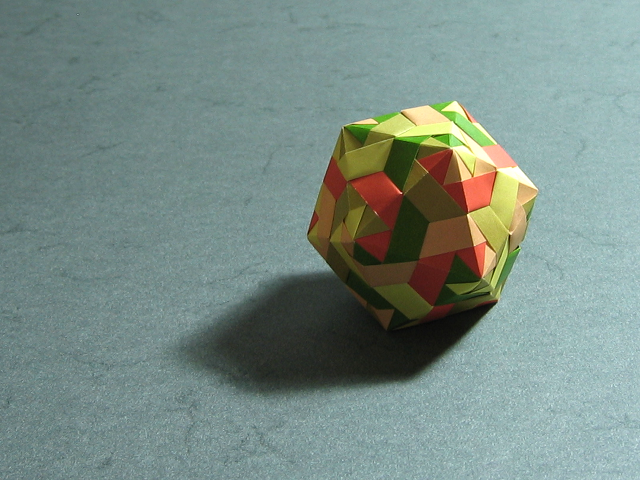 Modular Origami: How to Make a Cube, Octahedron & Icosahedron from ... | 480x640