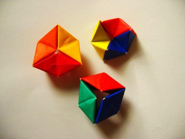 Rotating Tetrahedron (Tomoko Fuse)