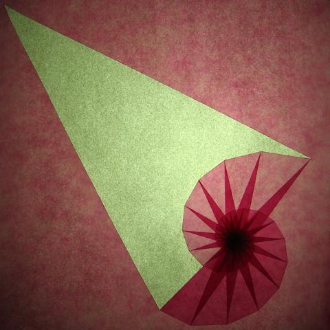 Diagram for Morning Glory Flower (Asagao) Kusudama by Tomoko Fuse ... | 480x480