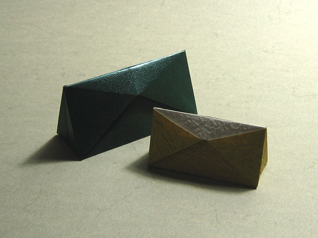 Triangular Box (Hans-Werner Guth)