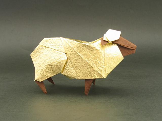 Sheep (Hideo Komatsu) | Happy Folding