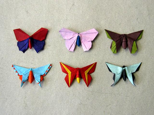 Various Butterflies (Michael LaFosse) | Happy Folding - photo#1