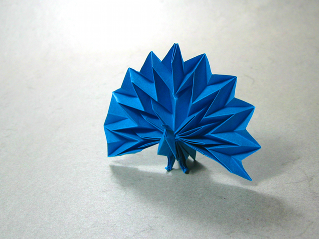 origami peacock diagram imagui
