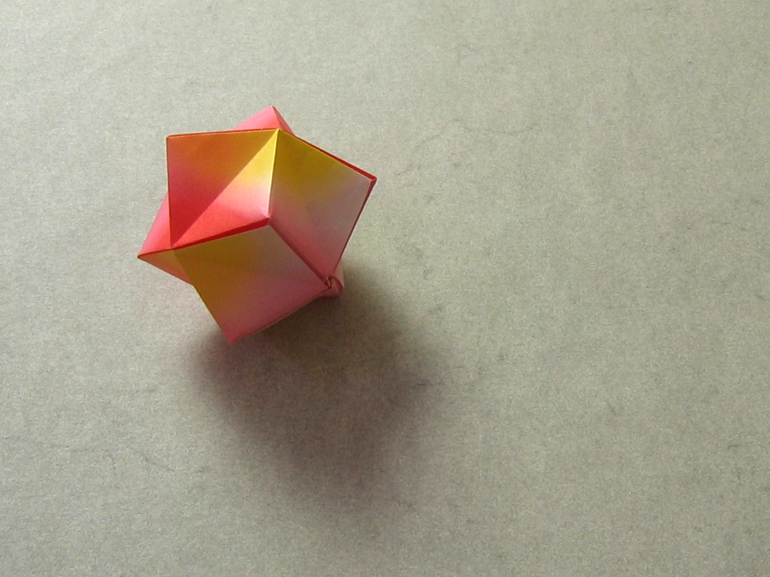 Modular Origami: How to Make a Cube, Octahedron & Icosahedron from ... | 828x1104