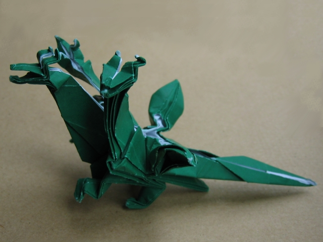 Brilliant Three Headed Dragon John Montroll Happy Folding Wiring Digital Resources Remcakbiperorg