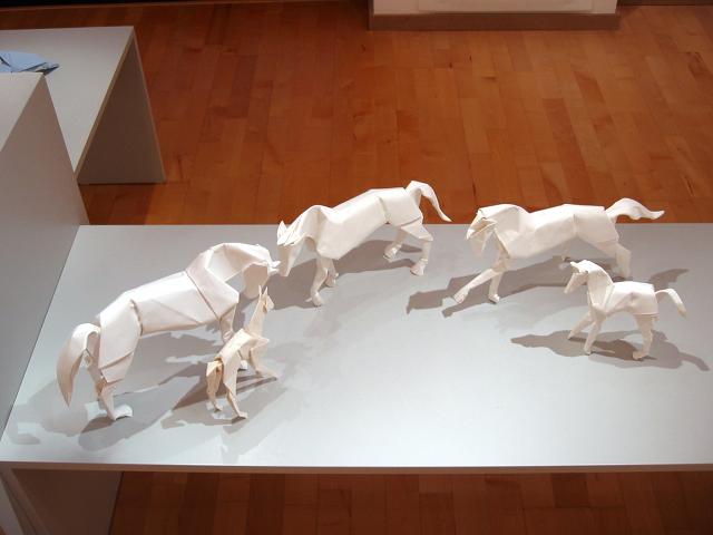 Origami Galerie: Horses (Dave Brill)
