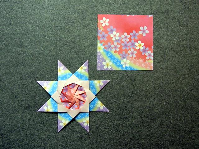Star Corona Boreale Maria Sinayskaya Patterned Paper Happy Folding Gorgeous Patterned Origami Paper