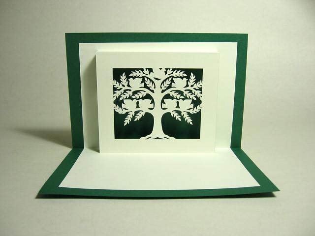Kirigami Family Tree Pop Up Card