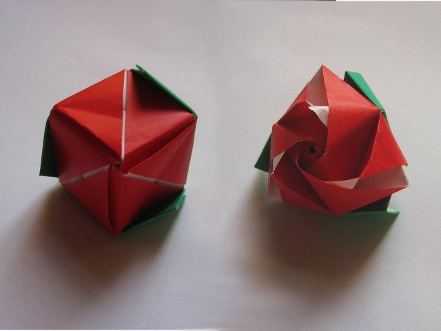 Magic Rose Cube Valerie Vann Happy Folding