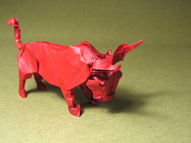 Bull (Stephan Weber): First test fold