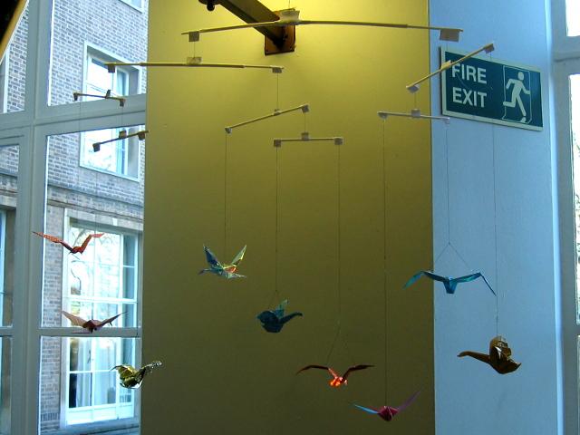 James Simon's Bird Mobile