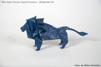 I Think It Is Best For Folding Insects And Super Complex Models Not Animals Such As This Lion