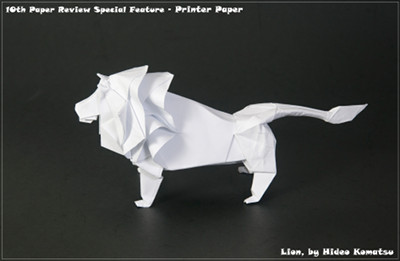 Easy Origami Lion - Easy Tutorial Origami - How to make an origami ... | 261x400