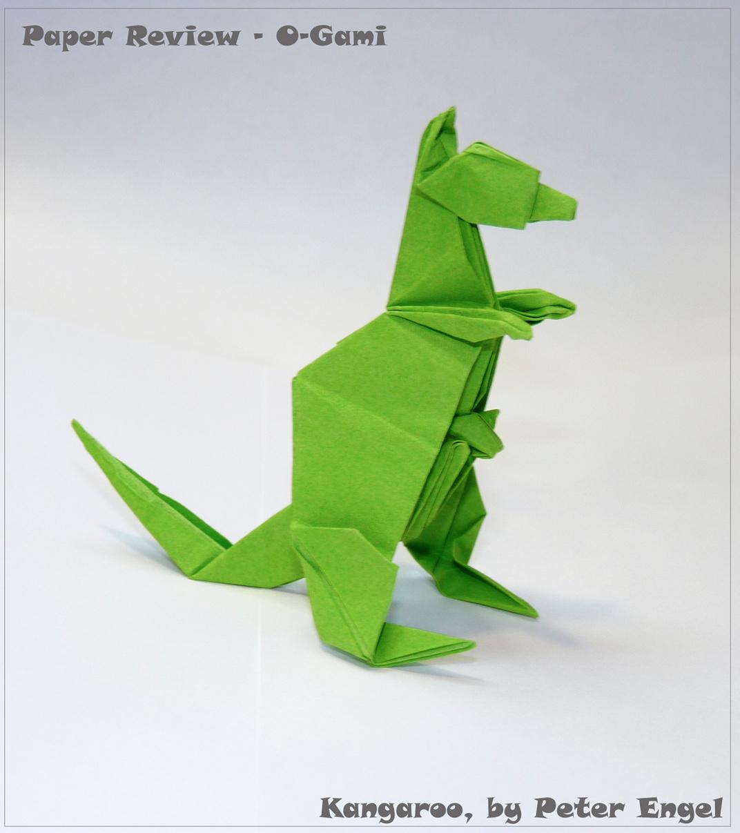 Kirikomi Origami Lizard - YouTube | 1207x1072