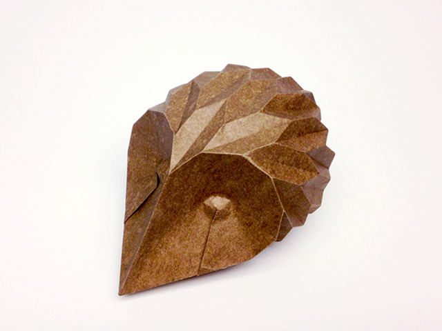 Hedgehog designed and folded by Beth Johnson
