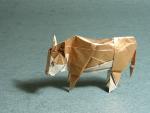 Hereford Steer (Román Díaz): Tissue Foil
