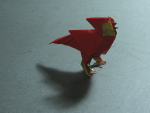 Singing Cardinal (Román Díaz): Foil Paper