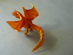 Ancient Dragon (Satoshi Kamiya): First Fold (Back View)