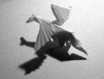 Pegasus (Satoshi Kamiya): Folded from Tracing Paper