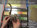 Unboxing an origami-shop.com Paper Order